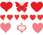 Romantic Hearts Set