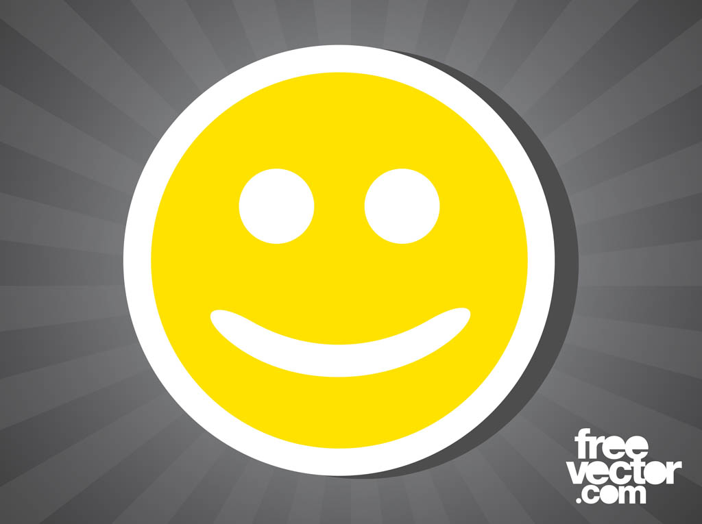 Smiley Face Sticker