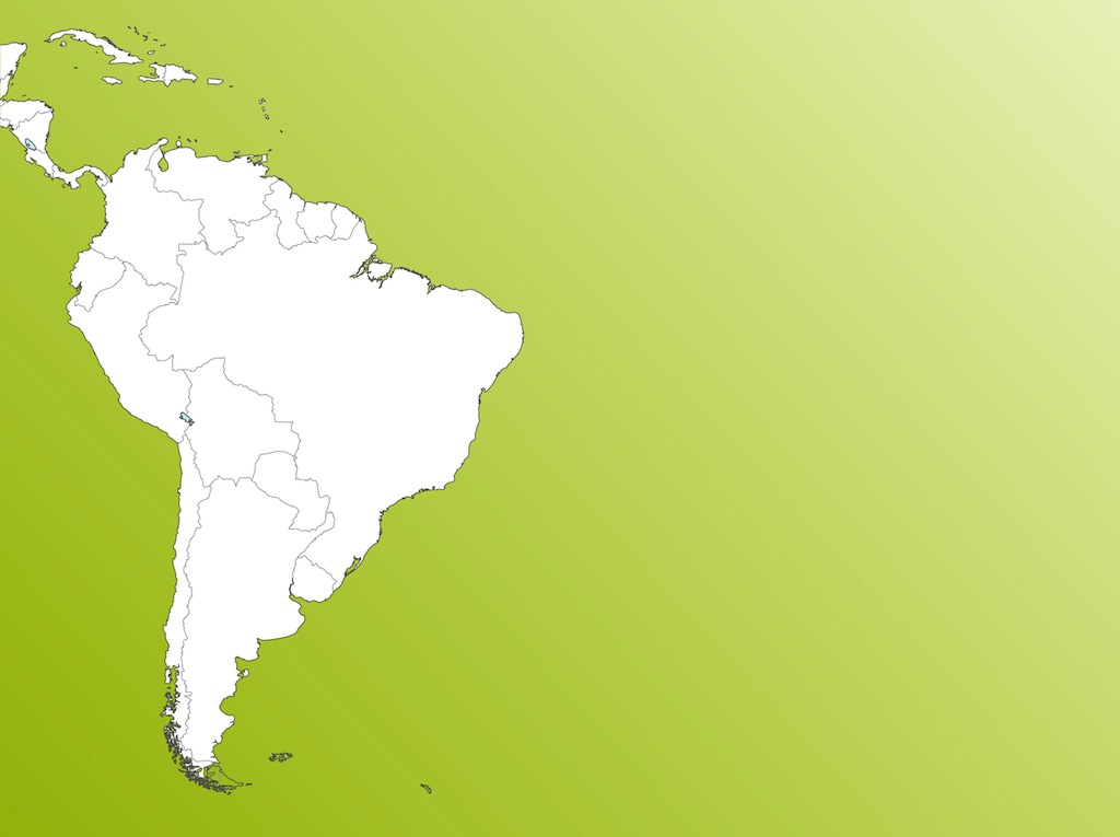 South America Vector Map