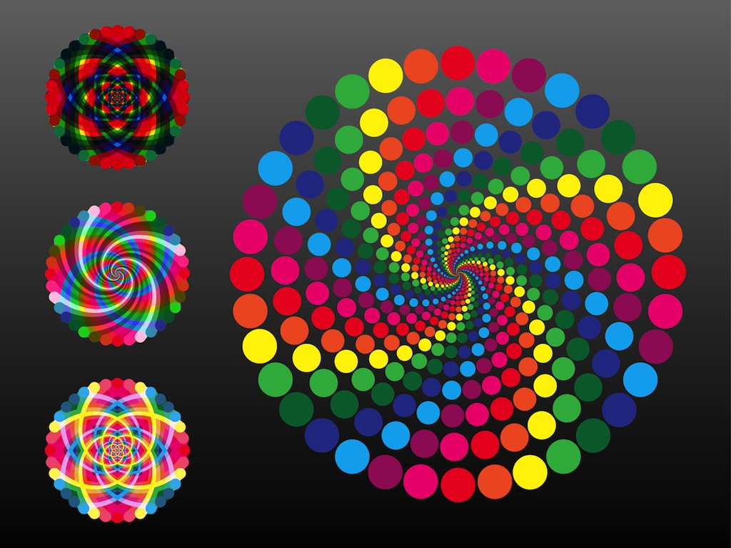 colors vector designs wheel elements wheels rainbow vectors graphics circle freevector graphic gear abstract lines shape similar