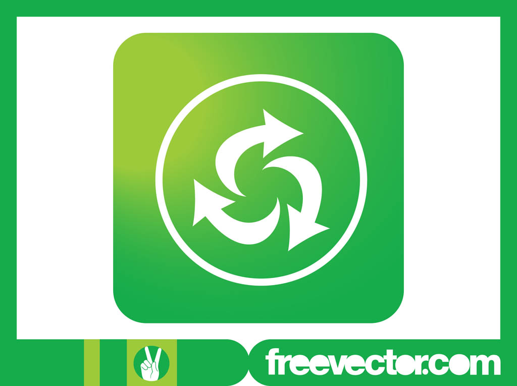 Recycling Icon Design