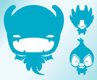 Cute Monsters Vectors