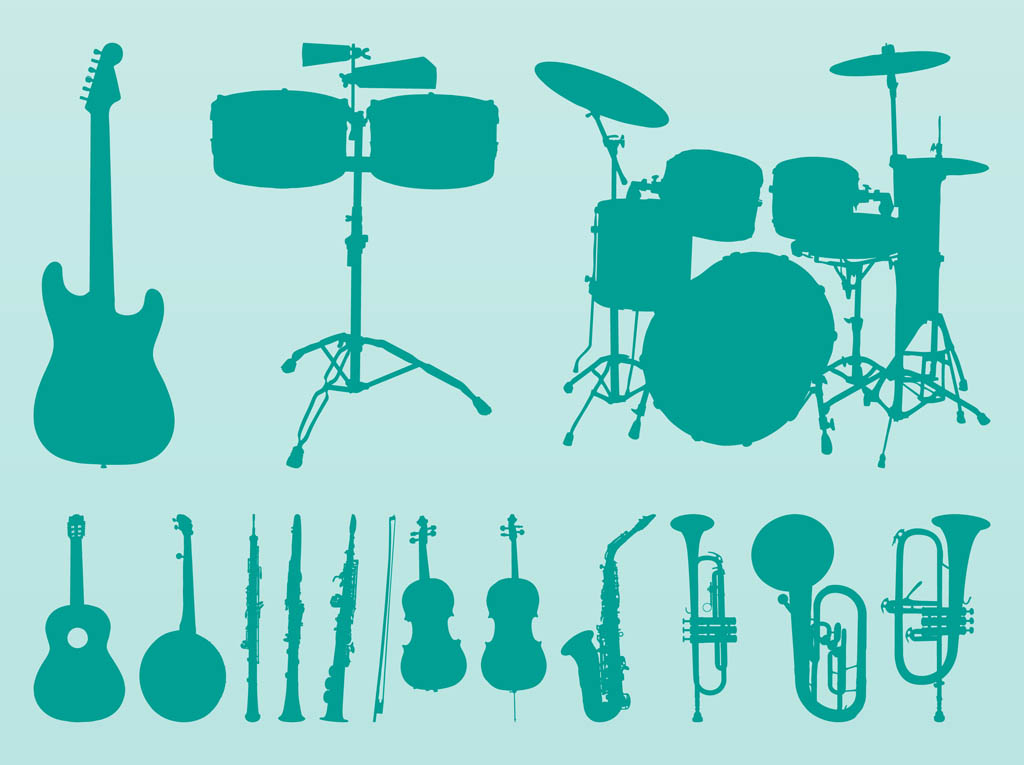 Musical Instruments Vectors