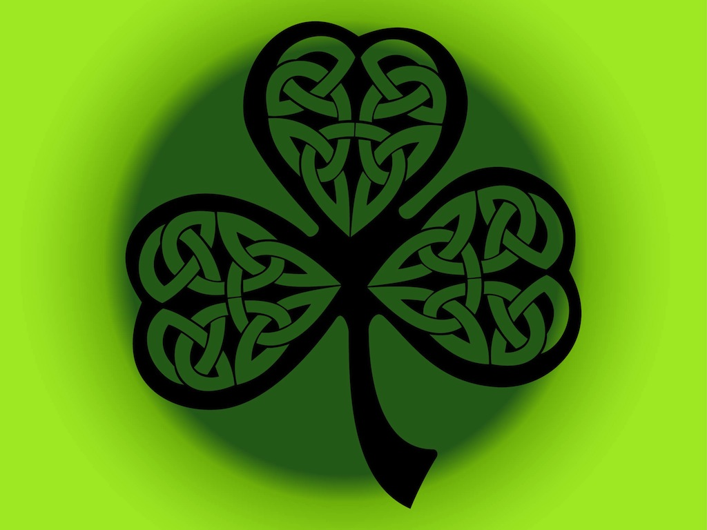 Four Leaf Clover Vector Art Graphics Freevector