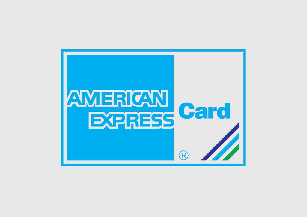 American Express Card Logo & Becuo