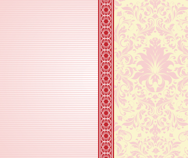 Free Vintage Striped Wallpaper Vector