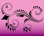 Floral Swirls Graphics