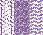 Purple Seamless Patterns