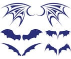 Bat Wings Set