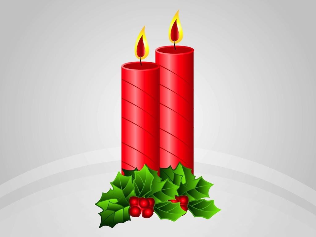 Displaying 17> Images For - Christmas Candles Clip Art...