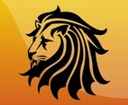 Lion Head Icon
