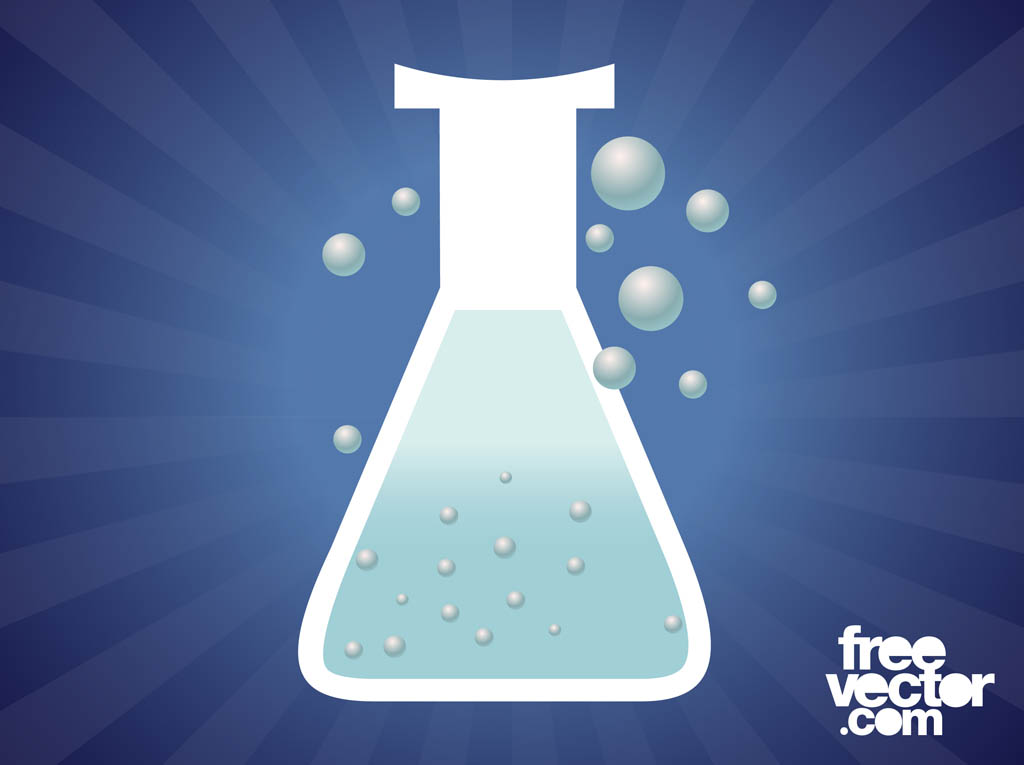 Chemical Reactions Wallpaper Chemical Reaction Vector