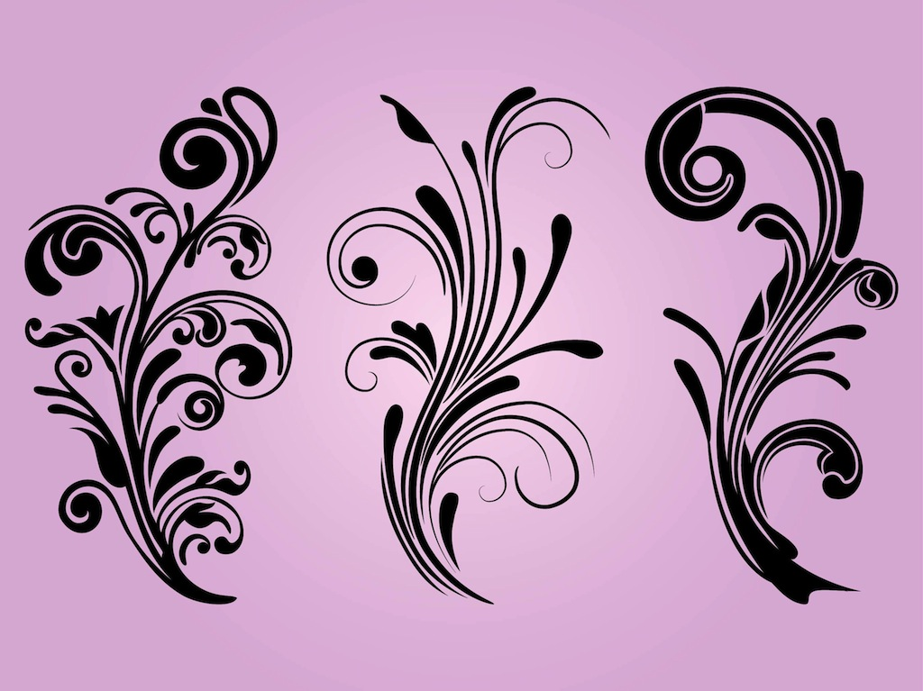 Free floral designs vector art graphics Blueprint designer free