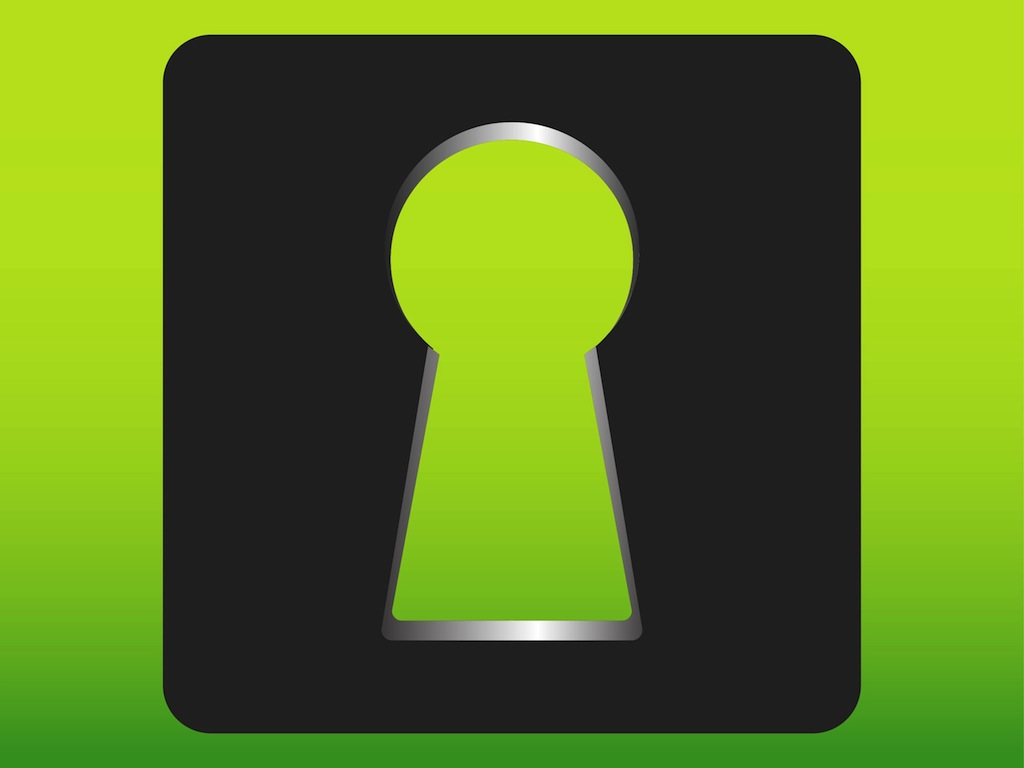 Keyhole Icon Vector Art & Graphics   freevector.com