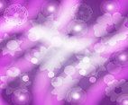 Purple Tonal Floral Background