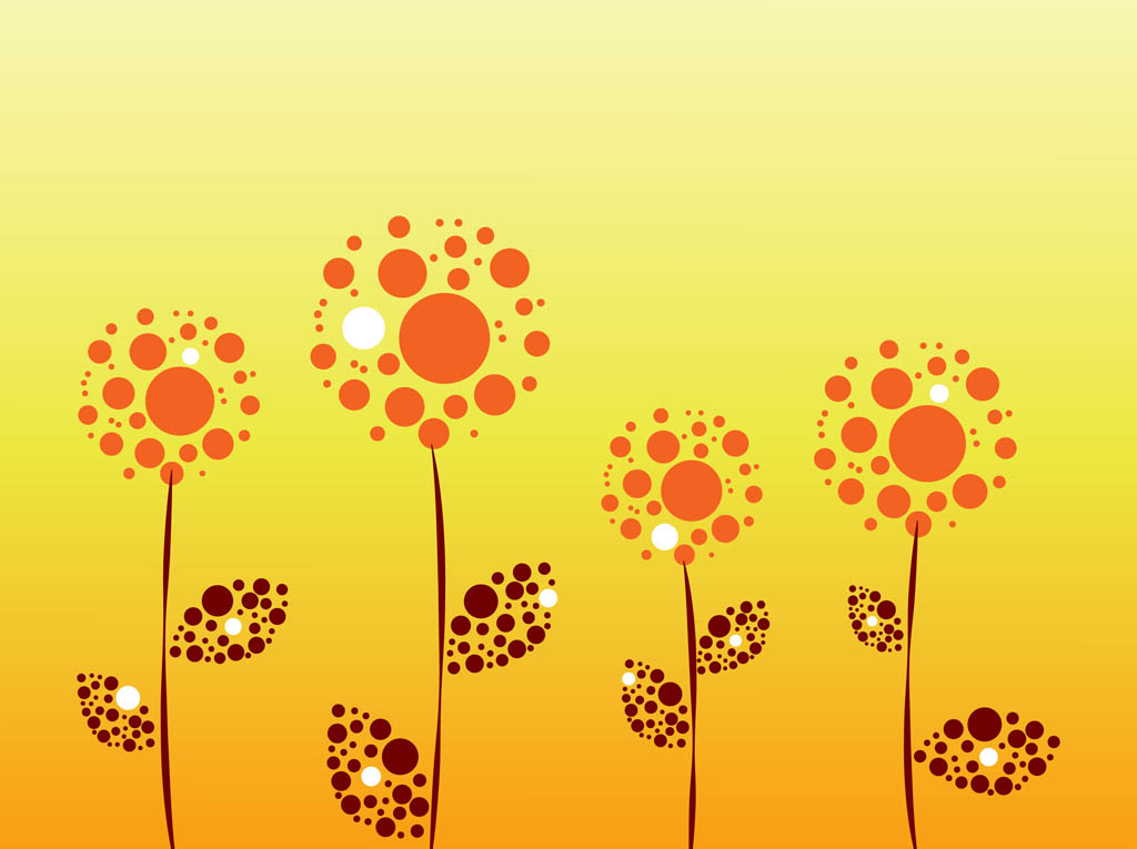 Vector Flowers Graphics