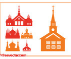 Churches Silhouettes