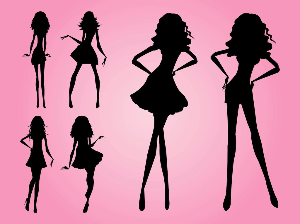 Models silhouettes