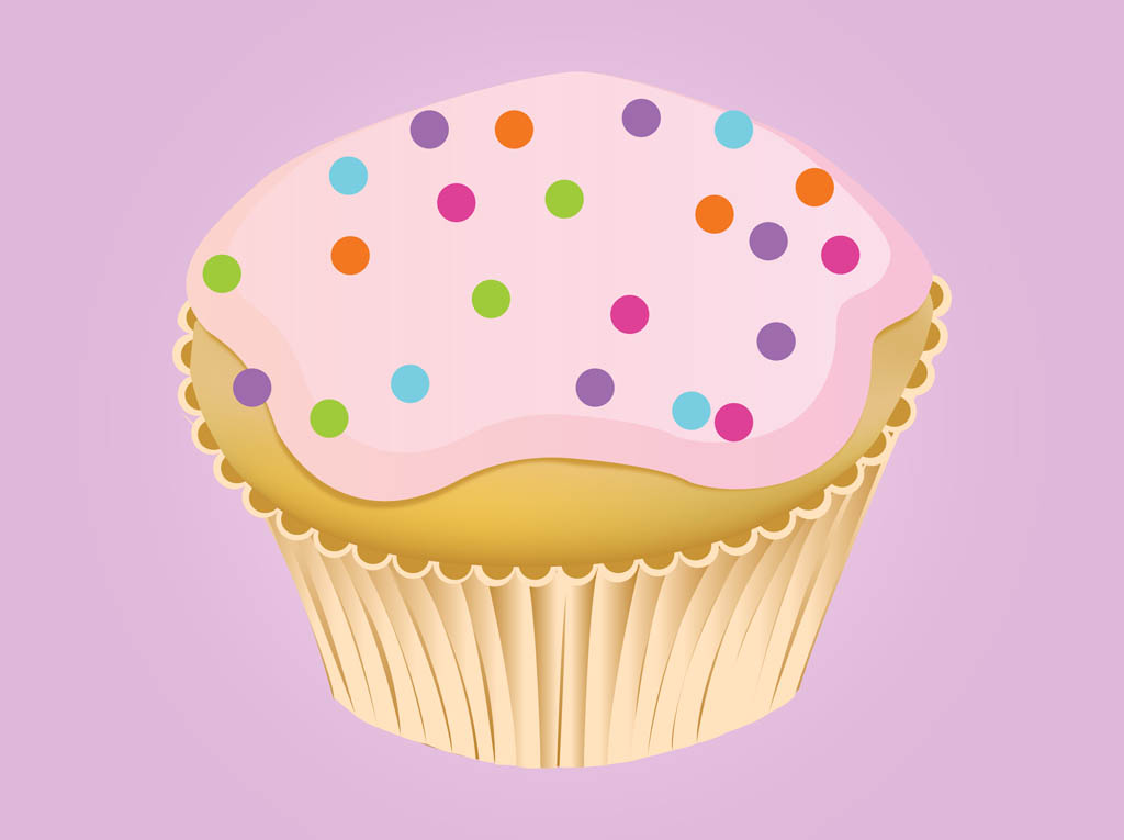 Cupcake Vector Art : Sweet Cupcake Vector Art & Graphics freevector.com