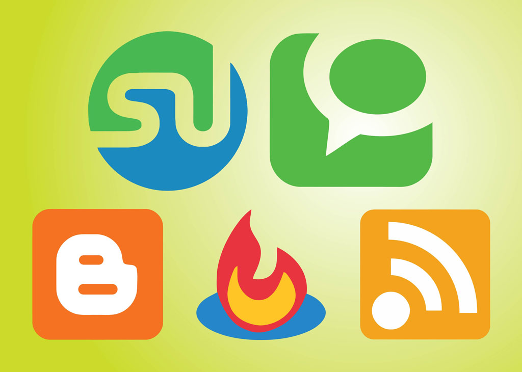 Social Communication Icons