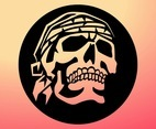 Pirate Skull Graphic