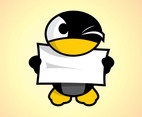 Cartoon Penguin Character