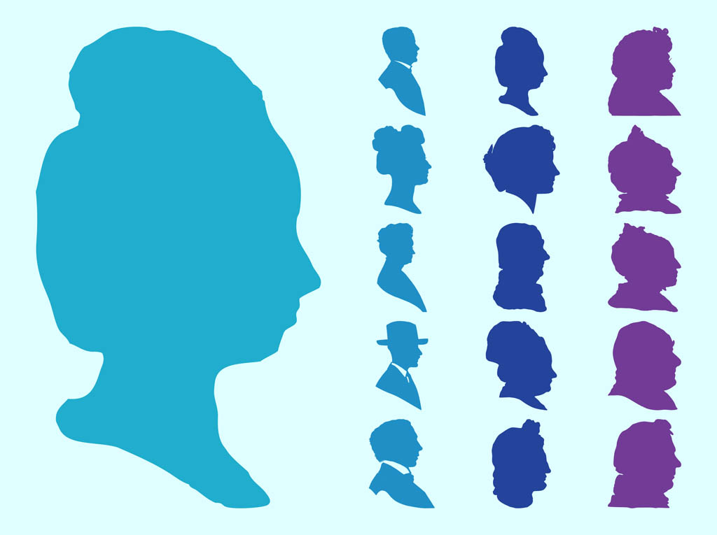 Faces Silhouettes