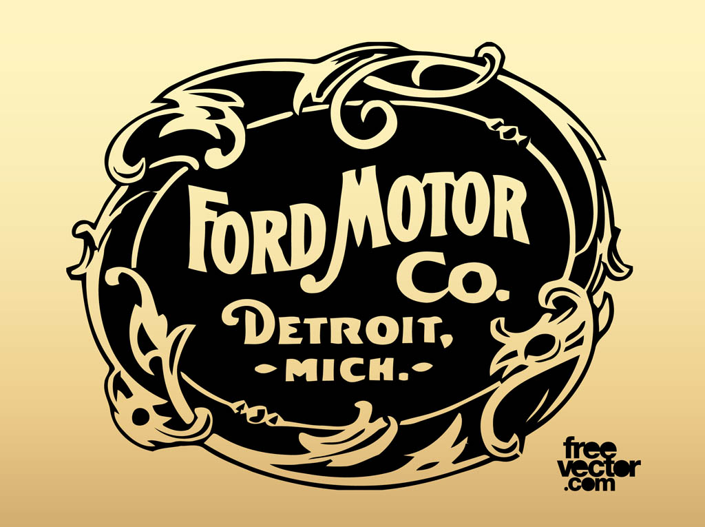 Old Ford Logos Old Ford Motor Company Logo