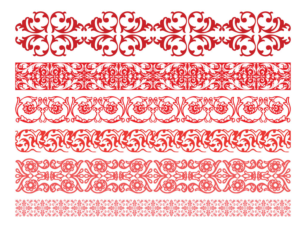 Floral Borders Graphics