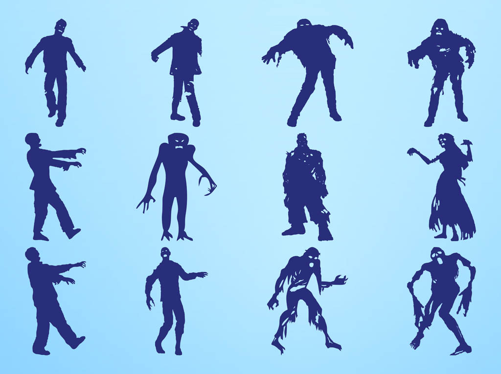 free zombie clipart images - photo #37