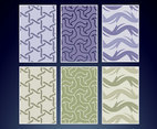 Seamless Textile Vector Patterns