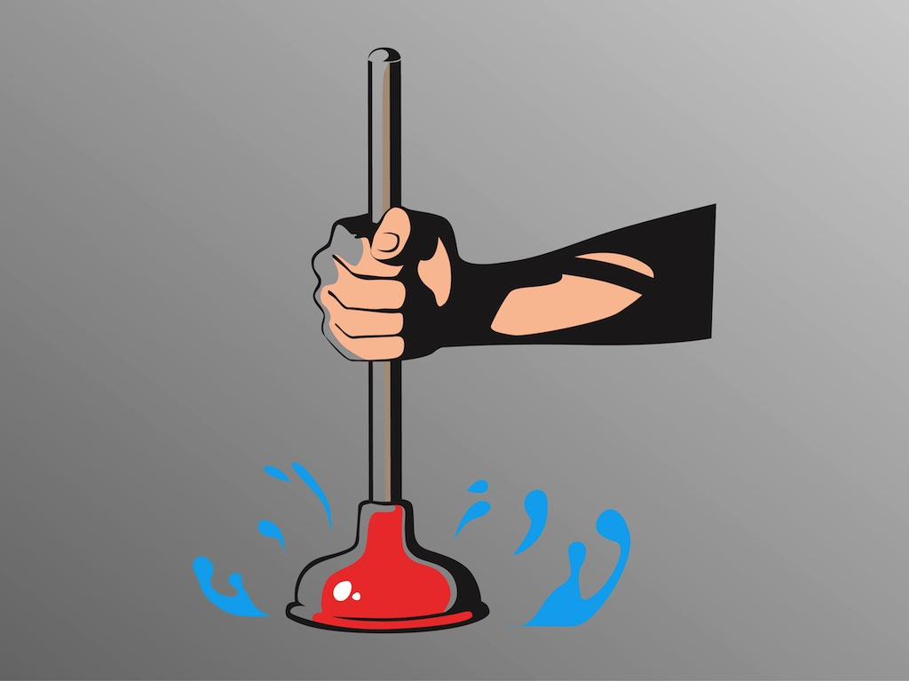 Plunger Vector Art Amp Graphics Freevector Com