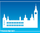 Palace Of Westminster Silhouette