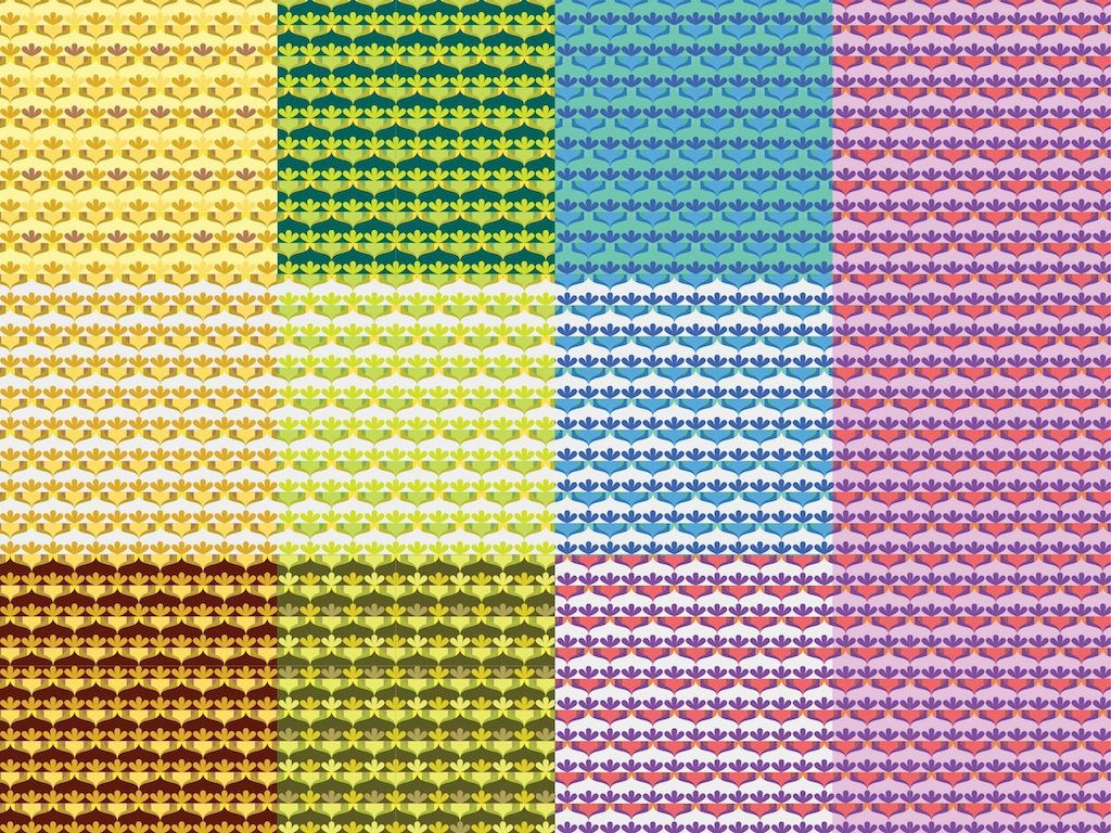 Colorful Patterns Vector
