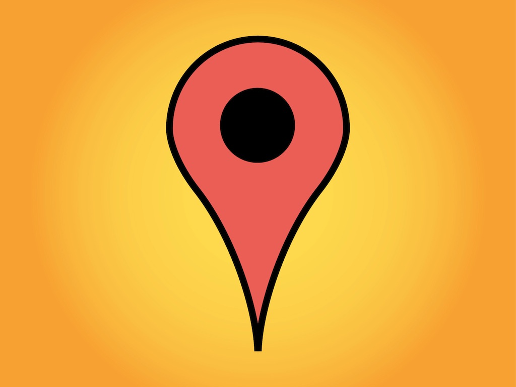 Free Google Maps Pointer Icon: Google Maps Marker Vector Art & Graphics