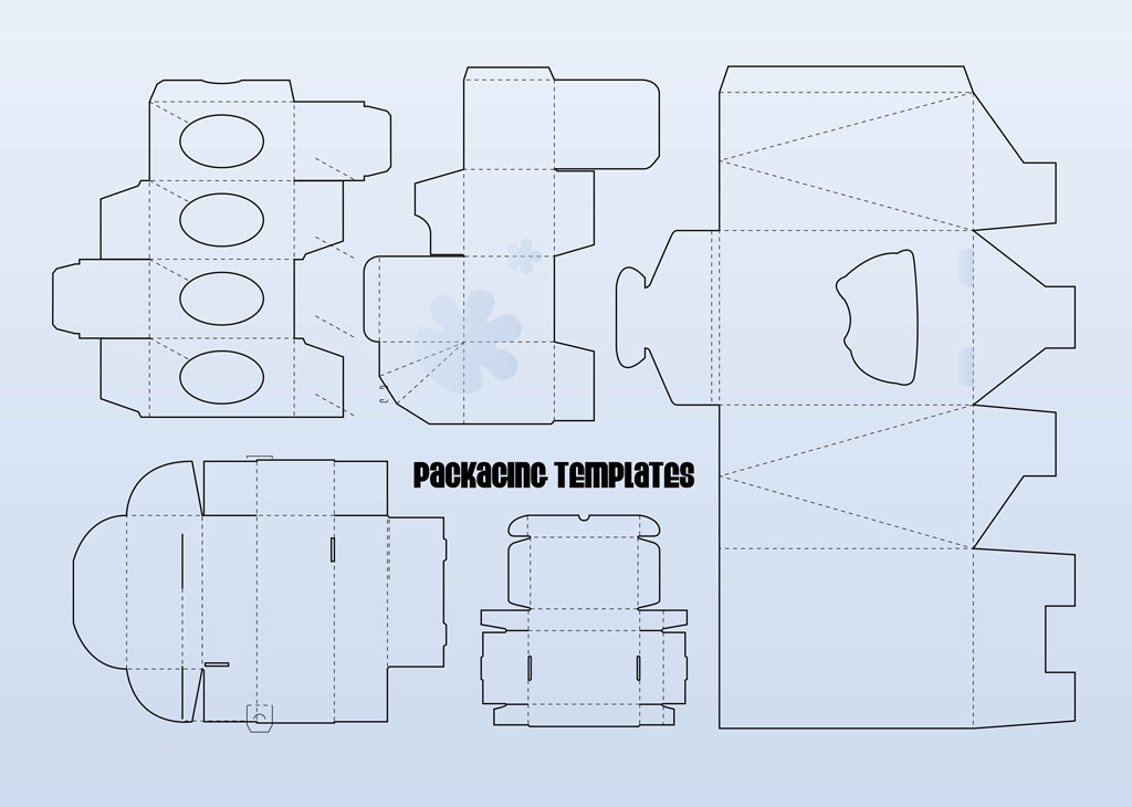 Packaging Templates Vector Art Graphics Freevector Com