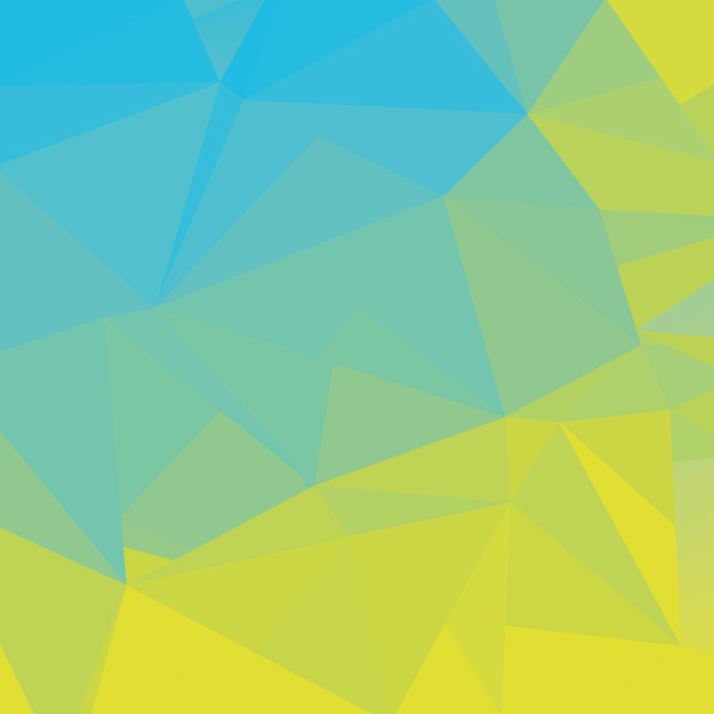 Blue Green Simple Abstract Polygonal Background Vector