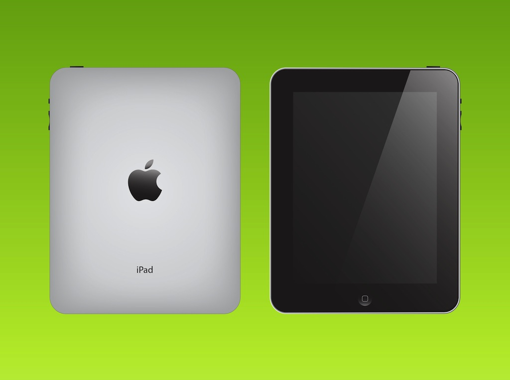 Apple iPad Vector