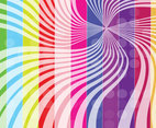 Rainbow Stripes Background