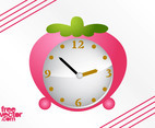 Strawberry Alarm Clock Vector