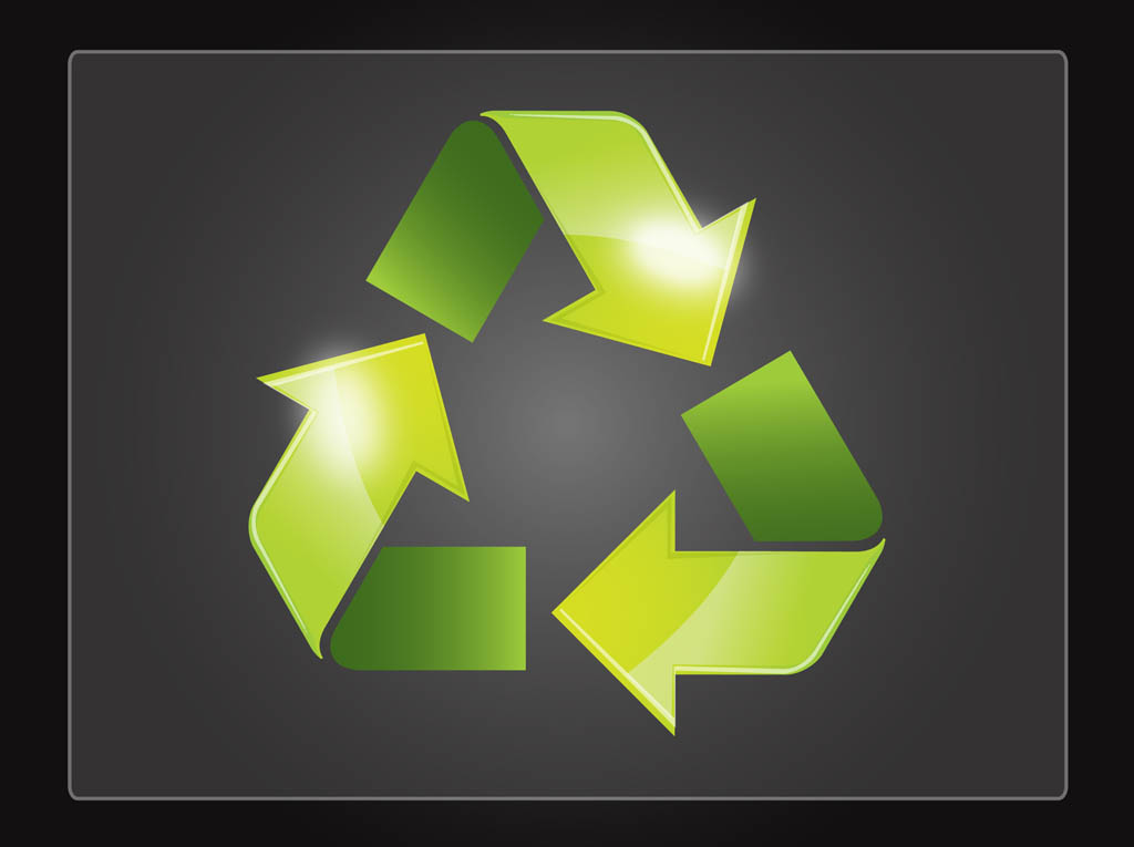 Cool Recycle Symbol Recycle Symbol