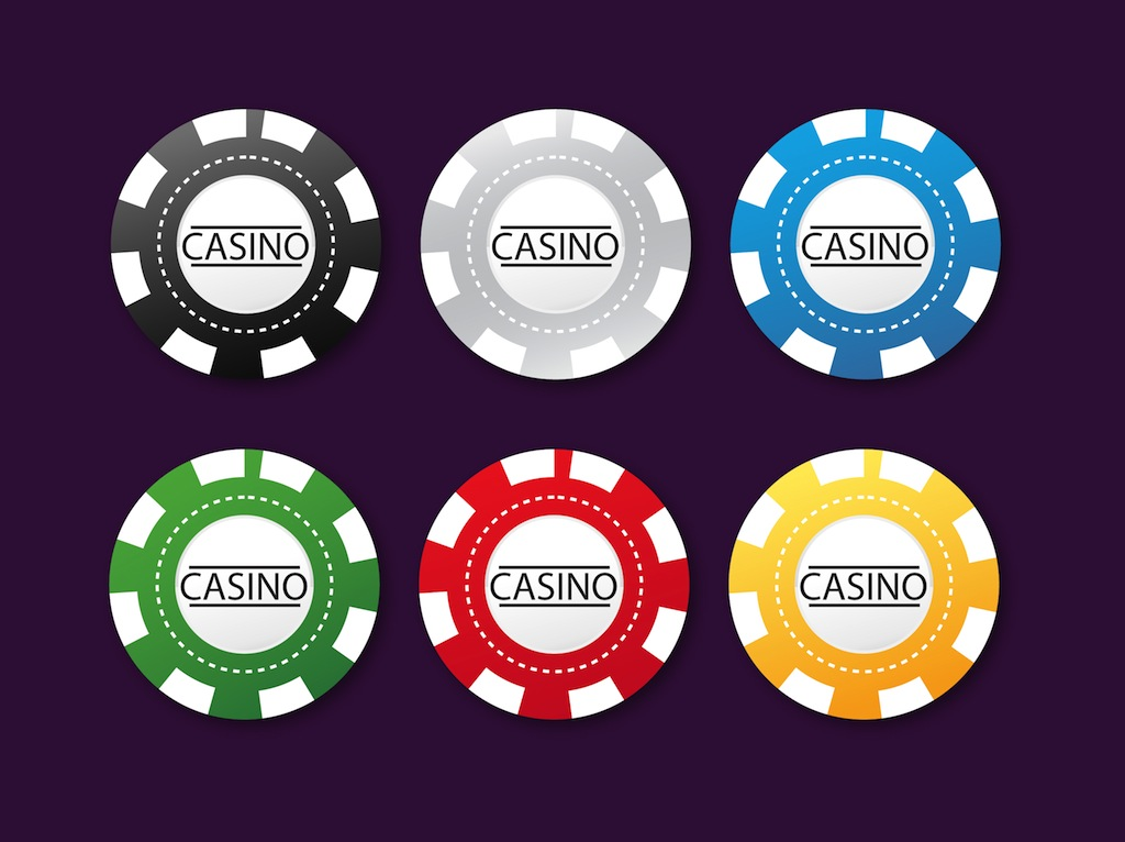 Poker Chips Vector Art Graphics Freevector Com