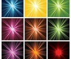 Radiant Vector Backgrounds