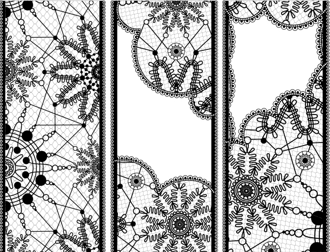Lace Vector Banners