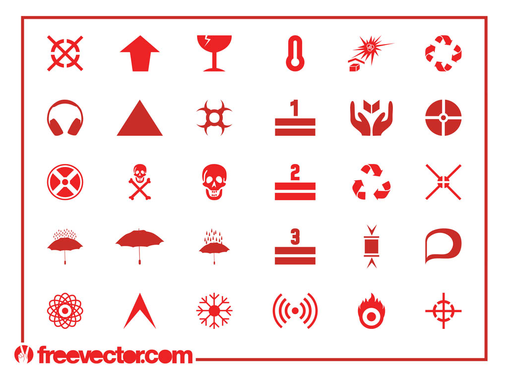 Physical Hazard Symbols Hazard Symbols And Icons