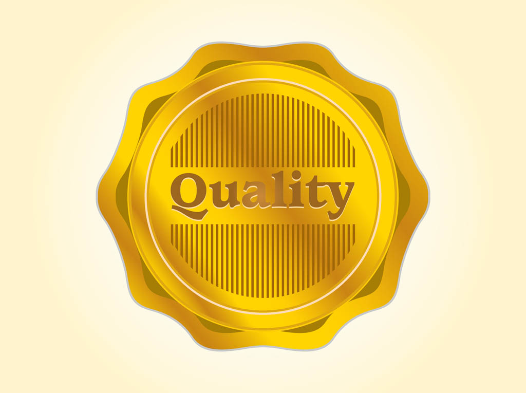Quality Vector Badge