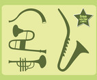 Wind Instruments Vector