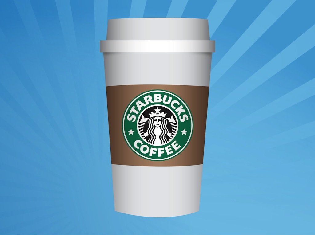 FreeVector-Starbucks-Cup.jpg (1024×765) | Coffee | Pinterest