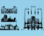 Cityscapes Vector Graphics