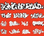 Graffiti Set Vector